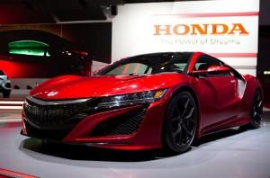 Honda NSX at Geneva Motor Show 2016