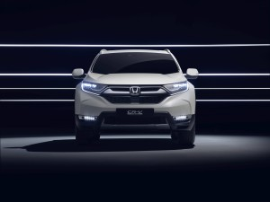 Honda CR-V Hybrid Prototype 2